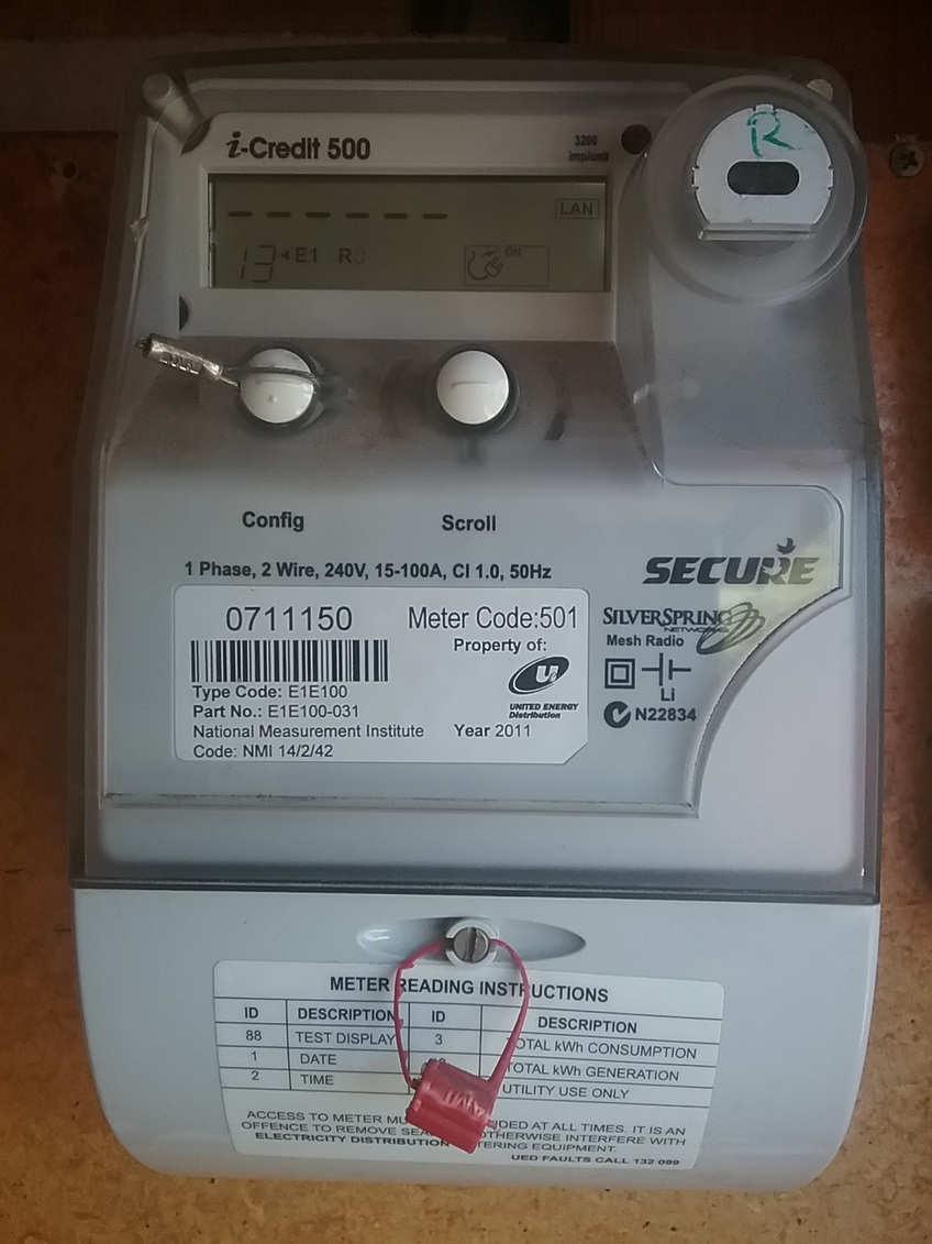 How to tell when your United Energy Smart Meter is setup
